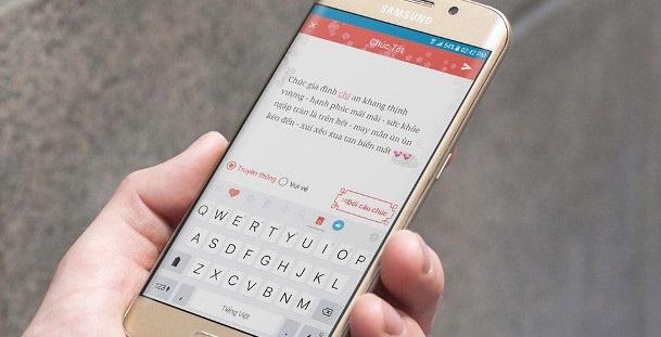 hướng dẫn viết SMS